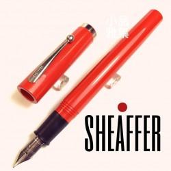 西華 Sheaffer 素色款 USA庫存新品 書寫鋼筆(橘色)