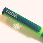 日本 COLTE 國民鋼筆+10色卡式墨水(綠色)