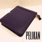 德國 Pelikan 百利金 真皮 拉鍊式筆套(6支裝)