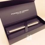 德國 PORSCHE DESIGN P3125 SLIM LINE 18K金 鋼筆(銀色)