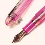 日本 Platinum 白金 #3776 NICE LILAS 粉色 透明 鋼筆