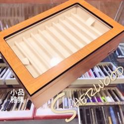臺灣製 木紋 20支裝 雙層 筆盒