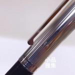 丹麥 GEORG JENSEN 喬治傑森 925純銀 頂級鱷魚皮 BESPOKE ALLIGATOR 鋼筆(黑)