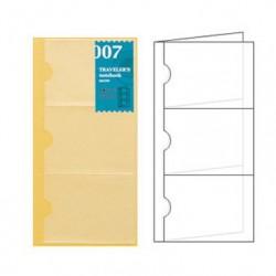 日本 MIDORI TRAVELER'S notebook #007 名片收納