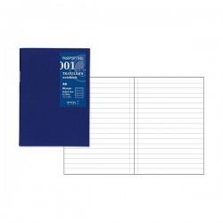 日本 MIDORI TRAVELER'S notebook PA SIZE #001 橫條內頁