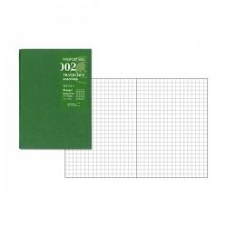 日本 MIDORI TRAVELER'S notebook PA SIZE#002 方格內頁