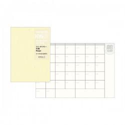 日本 MIDORI TRAVELER'S notebook PA SIZE#006 月間手帳