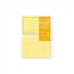 日本 MIDORI TRAVELER'S notebook PA SIZE#012 便利貼