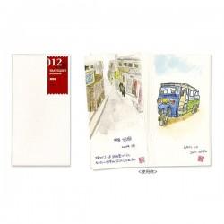 日本 MIDORI TRAVELER'S notebook #012 補充包 圖畫紙