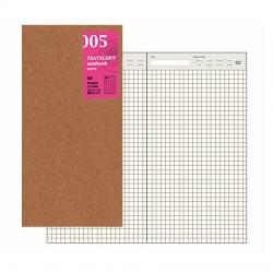 日本 MIDORI TRAVELER'S notebook #005補充包 日記本